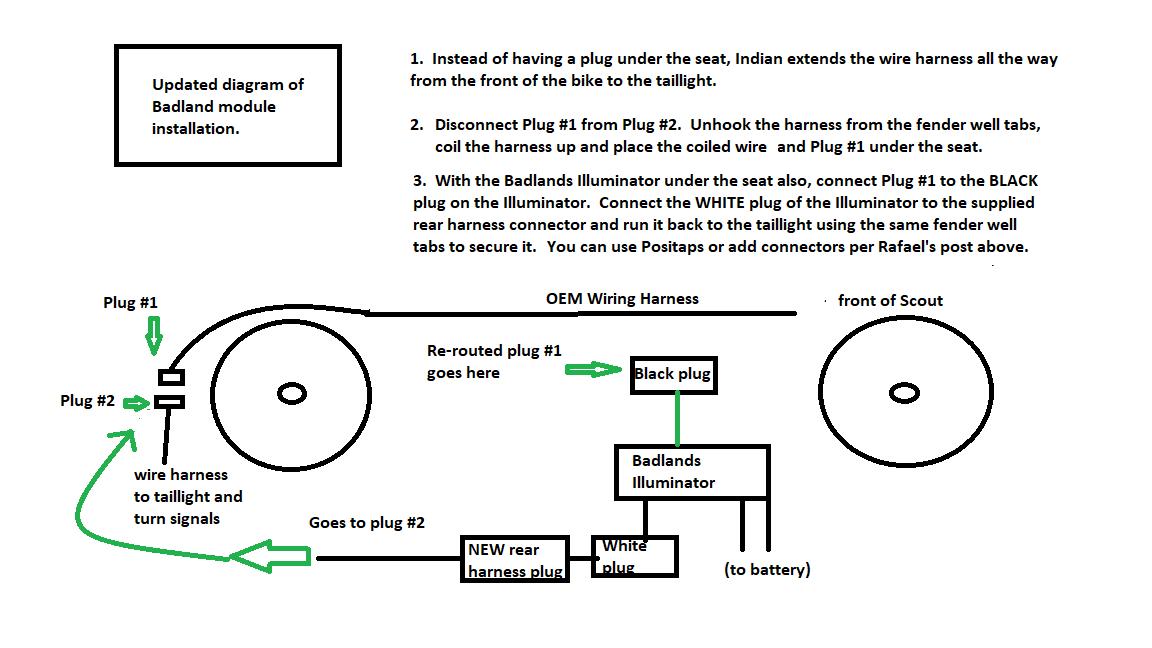 Advice on installing Badlands Illumintor Module | Indian Motorcycle on badlands illuminator diagram, badlands winch wiring kit, badlands winch plate, badlands winch solenoid wiring, badlands logo, badlands 2000 lb winch wiring, badlands winch remote, badlands winch problems, badlands 12000 winch,